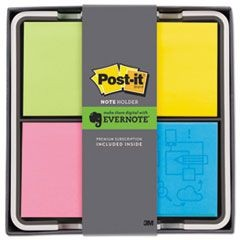 Note Dispenser with Premium Three-Month Evernote Subscription, Assorted Colors