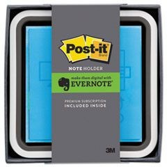 Note Dispenser with Premium One-Month Evernote Subscription, Assorted Colors