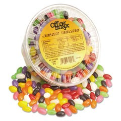 Jelly Beans, Assorted Flavors, 2 lb Tub