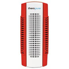 Therapure Mini Air Purifier, 1-Speed, Red, 5 sq ft Room Capacity