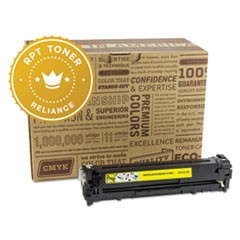 RPT RELCE322A Remanufactured CE322A Toner, 1300 Page-Yield, Yellow