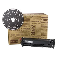 RPT RELCE410X Remanufactured CE410X High-Yield Toner, 4000 Page-Yield, Black