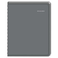 LifeLinks Pro Weekly/Monthly Appointment Book, 8 3/8 x 10 7/8, Gray, 2016