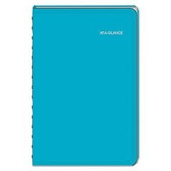 LifeLinks Professional Weekly/Monthly Appointment Book, 5 1/2 x 8 1/2, Teal,2016