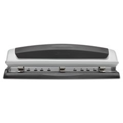 10-Sheet Precision Pro Desktop Two-to-Three-Hole Punch, 9/32