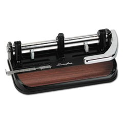 40-Sheet Heavy-Duty Lever Action Two- to Seven-Hole Punch, 11/32 Holes