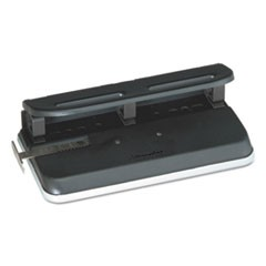 24-Sheet Easy Touch Three- to Seven-Hole Punch, 9/32