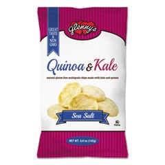 Quinoa & Kale Gluten Free Multi Grain Chips, Sea Salt, 5 oz Bag, 12/Carton
