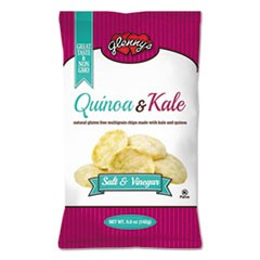 Quinoa & Kale Gluten Free Multi Grain Chips, Salt & Vinegar, 5 oz Bag, 12/Carton