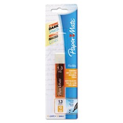 1Lead Refills, 1.3 mm, HB, Gray, 12/Tube