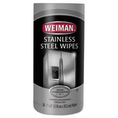 Stainless Steel Wipes, 7 x 8, 30/Canister, 4 Canister/Carton