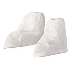 A20 Boot Covers, MICROFORCE Barrier SMS Fabric, One Size, White, 300/Carton