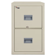 Patriot Insulated Two-Drawer Fire File, 17-3/4w x 25d x 27-3/4h, Parchment