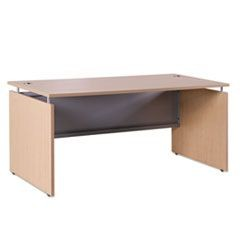 Sedina Series Straight Front Desk Shell, 66w x 30d x 29 1/2h, Maple
