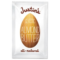 Classic Almond Butter, 1.15 oz Squeeze Pack, 10/Box