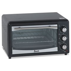 1Toaster Oven, 4 Slice Capacity, Stainless Steel/Black