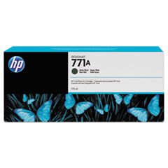 HP 771, (B6Y15A) Matte Black Original Ink Cartridge