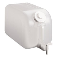 Shur-Fill Dispenser, 5 gal, Clear, 8/Carton