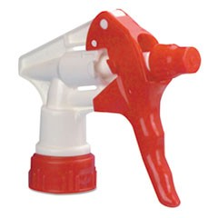 "Trigger Sprayer 250 f/32 oz Bottles, Red/White, 9 1/4""Tube, 24/Carton"