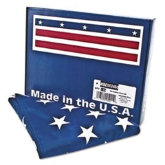 1All-Weather Outdoor U.S. Flag, Heavyweight Nylon, 3 ft x 5 ft