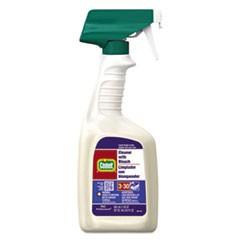 Cleaner with Bleach, 32 oz Spray Bottle, 8/Carton