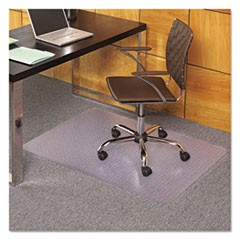 36 x 44 Rectangle Chair Mat, Task Series AnchorBar for Carpet up to 1/8""