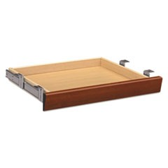 Laminate Angled Center Drawer, 22w x 15 3/8d x 2 1/2h, Cognac