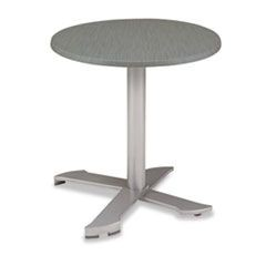 PARX Nesting Table, 30 x 30 x 29, Pewter