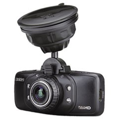 CAM650 Dashcam Recorder with Built-In GPS, 1920 x 1080p, 170-Degree View Angle