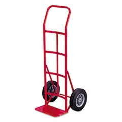 Two-Wheel Steel Hand Truck, 500lb Capacity, 18 x 44, Red