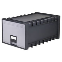 "Archive Drawer for Letter Files Storage Box, 18"" Depth, Gray"