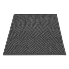 EcoGuard Diamond Floor Mat, Rectangular, 36 x 48, Charcoal