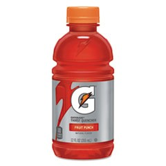 G-Series Perform 02 Thirst Quencher, Fruit Punch, 12 oz Bottle