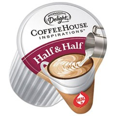 Coffee House Inspirations Half & Half,  0.38 oz, 384/Carton
