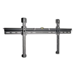 "Wall Mount, Fixed, Steel/Aluminum, 37"" to 70"", Black"