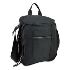 Tech Gear Bag, 8 3/4 x 2 3/4 x 11 1/2, Black