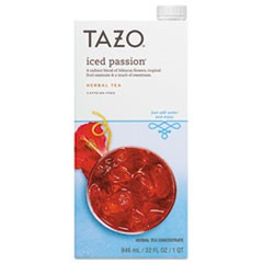 Iced Tea Concentrate, Iced Passion, 32 oz Tetra Pak, 6/Carton