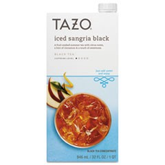 Iced Tea Concentrate, Iced Sangria Black, 32 oz Tetra Pak, 6/Carton