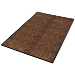 Platinum Series Indoor Wiper Mat, Nylon/Polypropylene, 36 x 60, Brown