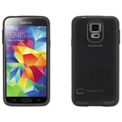 Reveal Case for Samsung Galaxy S5, Black/Clear, Retail Packaging