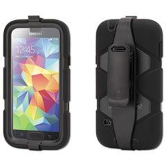 Survivor All-Terrain Case for Samsung Galaxy S5, Black