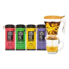 Loose Leaf Tea Starter Kit, Assorted, 4 oz Tin