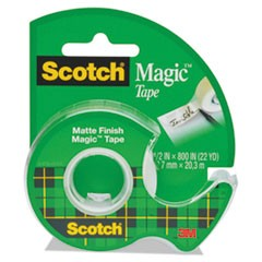 "Magic Tape in Handheld Dispenser, 1/2"" x 800"", 1"" Core, Clear"
