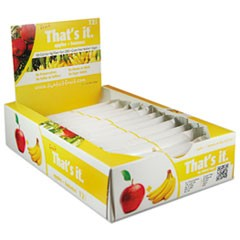 Nutrition Bar, Apple & Banana, 1.2 oz Bar, 12/Box
