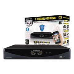 Eight-Channel Video Security System, 960 x 480p Resolution