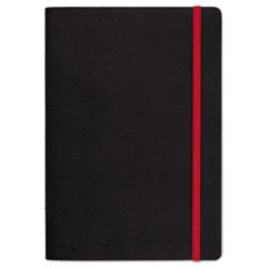 Soft Cover Notebook, Legal Rule, Black Cover, 5 3/4 x 8 1/4, 71 Sheets/Pad