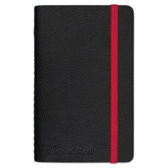 Soft Cover Notebook, Legal Rule, Black Cover, 3 1/2 x 5 1/2, 71 Sheets/Pad
