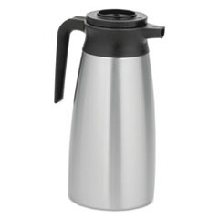 11.9 Liter Thermal Pitcher, Stainless Steel/Black