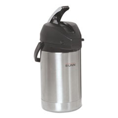 12.5 Liter Lever Action Airpot, Stainless Steel