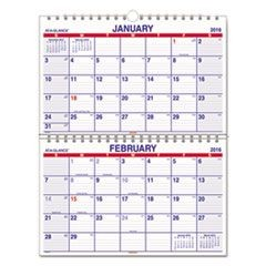 Move-A-Page Two-Month Wall Calendar, 22 x 28 1/2, Move-A-Page, 2016-2017